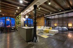 Архитектурно-дизайнерская компания   Martin architectsдизайн квартир LOFT is LOFT