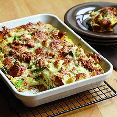 Panera Asparagus & Fontina Breakfast Bake.  (Or Breakfast for Supper!)