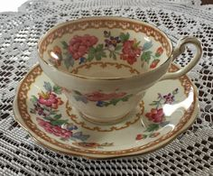 A personal favorite from my Etsy shop https://www.etsy.com/ca/listing/506109266/vintage-foley-bone-china-tea-cup-and