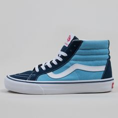 Vans Sk8-HI Reissue Pro (50th) 86 Shoes, Navy / White