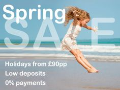 Spring into your next getaway with our Spring Sale! Grab a holiday from as little as £90pp >> http://bit.ly/1zSf16k