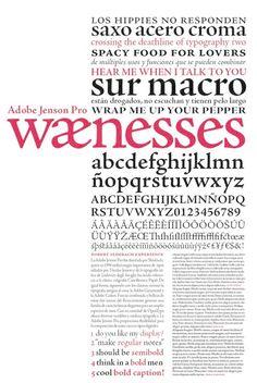 Adobe Jenson by Nicolas Jenson