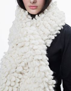 Plush Perry Scarf Pattern by Wool and the Gang