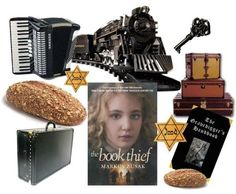The Book Thief literary mood board { Article: Literary Mood Board: The Book Thief } ★ Unexpected elements of synesthesia... this book is surprising in so many ways! #literarymood