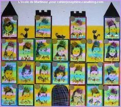 Castle Crafts, Ecole Art, School Themes, Preschool Classroom, Art Plastique, Photomontage, Art Fair, Art School, Knight