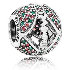 Today is the official launch of the Pandora Winter 2015 Collection!  It's titled Crystalized Embellishments and includes wintry and holiday themed charms.  Retailers actually received this release a couple weeks ago so I was able to see it in stores...