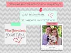 Thriving in 3rd gets a blog makeover and is having a giveaway!
