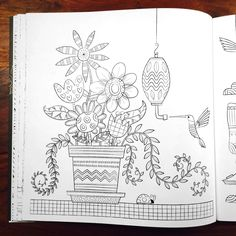 A Hand Crafted Coloring Book For Adults Featuring Intricate Designs That Capture The Feeling Of Home From Front Door To Backyard