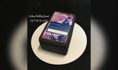 Bolo Corporativo Banco Itaú App Credicard no iPhone X  #bolo #bolo #bolodecorado #boloartistico #cakedesign #instabolo #cake #cakeinstagram #cakes #itau #credicard #iphonex #cakedecorating