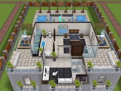 House 43 level 3 #sims #simsfreeplay #simshousedesign