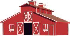 Red Barn Clip Art at Clker.com - vector clip art online, royalty ...