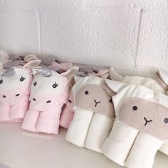 The sweetest new hooded towels just arrived! Lambs & Unicorns at spearmintLOVE.com Baby Towel, Twin Girls, Hoods, Infant, Snoopy, Nursery, Hooded Towels, Sweet, Instagram Posts