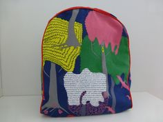 Toddler Backpack for ages 0-6 by Elli and Paul - Blue Forest bag for preschool
