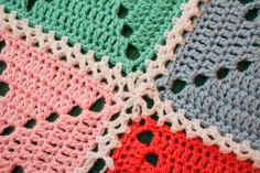 How to join crochet squares - the right way!  I'm so glad I found this!  It's much prettier and professional looking than some other methods.
