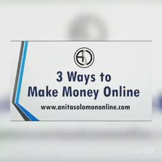 """There are so many ways to make money online. Let me show you some. . . And remember, my Instagram action plan would be coming out this month. Check the link in my bio to sign up to the waiting list. Cheers!"" by @anitasolonline. • • • • • #digitalmarketing #onlinemarketing #marketing #branding #socialmediamarketing #seo #socialmedia #contentmarketing #advertising #marketingtips #marketingdigital #smm #onlinebusiness #emailmarketing #marketingonline #internetmarketing #socialmediatips…"