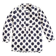 Girls' moon-dot tunic. Not for this weather but still adorable!