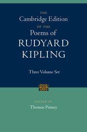 The Cambridge Edition of the Poems of Rudyard Kipling 3 Volume Hardback Set
