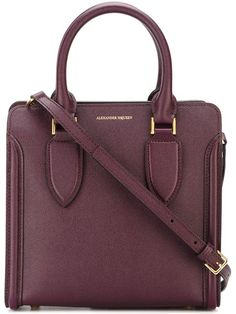 ALEXANDER MCQUEEN 'Heroine' Tote. #alexandermcqueen #bags #shoulder bags #hand bags #leather #tote #