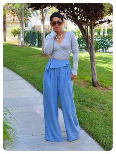 "DIY Slouchy Pants: Burda 7195 ""The Last Hurrah"" |Fashion, Lifestyle, and DIY"