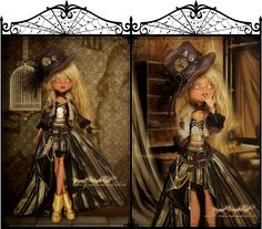 deviantART: More Like monster high custom doll pokemon pikachu gijinka by ~Rach-Hells-Dollhaus