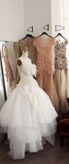 Marchesa | Studio in Chelsea | Cofounders Georgina Chapman & Keren Craig's Dresses Come to Life jαɢlαdy: