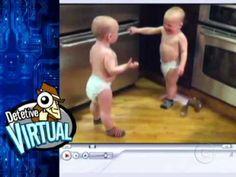 DADADA Comediante Fábio Porchat e Tadeu Schmidt dublam os bebês falantes...