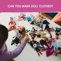 With a bright young mind's imagination there is no limit to how your child will play with their doll, but how do you keep those doll clothes clean? Washing Clothes, Doll Clothes, Baby Shampoo, New Dolls, Laundry Detergent, Doll Accessories, Your Child, Imagination, Product Launch