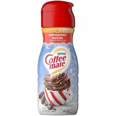 Coffee Mate Peppermint Mocha Coffee Creamer - 1pt : Target
