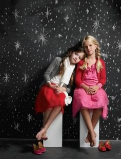Mackenzie Foy and Crewcuts Girls' Tulle Pixie Ballet Skirt Photograph