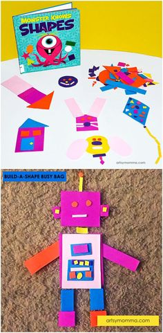 Shapes Busy Bag & Fine Motor Activity for Preschoolers Learning https://www.amazon.com/Kingseye-Painting-Education-Cognitive-Colouring/dp/B075C4SD9N