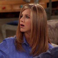 Cut My Hair, New Hair, Rachel Green Style, Friends Moments, Friends Tv, John Aniston, Jenifer Aniston, Face Hair, Hair Looks