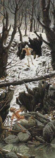 Pinocchio, Roberto Innocenti