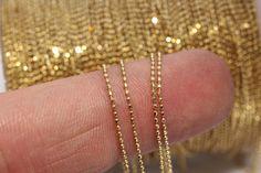 10m 1mm chaîne, chaîne boule, chaîne billes, chaîne en metal, chaîn, chaînes…