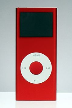 Product Red Special Edition 2nd Generation iPod Nano. #Apple #Computers #iPod #Nano I have this :)