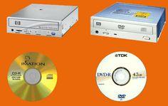 DVD a CD Mechanika