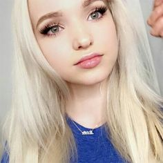 """Hey I'm dove I'm 17 and single. I love flowers and singing. I have a sister and a brother"" - Doves intro Dave Cameron, Hairspray Live, Chloe, Cute Young Girl, Beautiful Actresses, Best Makeup Products, American Girl, Makeup Tips, Celebs"