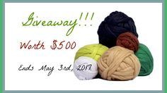 Giveaway $500 Worth of Merino Wool Roving, ends May 2017.  To encourage all sorts of woolly DIYs, arts and crafts we're giving away a boatload of Merino wool roving!  Be sure to check back often for other giveaways.