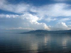 Colores y Tonalidades que se mezclan en un majestuoso paisaje del Lago de Chapala