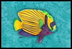 Fish Tropical Indoor / Outdoor Mat - 24 Inches By 36 Inches. by Caroline's Treasures. $38.99. Beach Mutiple Manatee Indoor / Outdoor Mat 24x36 - 24 inches by 36 inches. Permanently dyed and fade resistant. Great for the front door or the back door. Use this mat inside or outside. Use a garden hose or power washer to chase the dirt off of the mat. Do not scrub with a brush. Use the Vacuum on floor setting. Made in the USA. Clean stain with a cleaner that does not p...