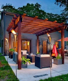 Perfect Pergola Designs for Home Patio 22