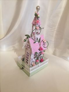Doll Houses, Snow Globes, Building A House, Buildings, Table Lamp, Paper Crafts, Craft Ideas, 3d, Christmas