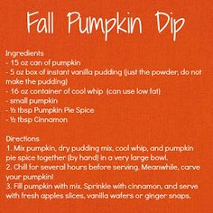 Carolina Charm: Pumpkin Dip!