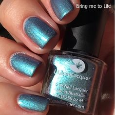 Almost Famous Nails: Lilypad Lacquer - This Life Collection