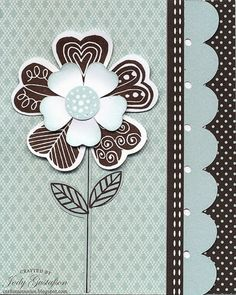 Artiste Cricut CardBlack and Glacier make a stunning color combination.Directions: Cut card on page 73 in the Artiste booklet at inches.Score the back of the card at Don't use the nicks to Scrapbook Paper Crafts, Scrapbook Cards, Scrapbooking, Cricut Cards, Stampin Up Cards, Heart Cards, Cards For Friends, Your Cards, Diy Cards