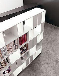 915 bookshelf by Bartoli Design - Kristalia