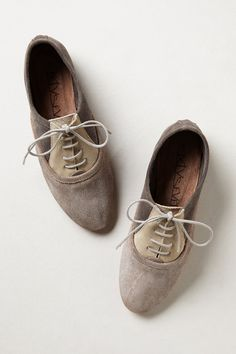 ++ Lacy Colorblock Oxfords