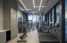 W Prime Lobby - Picture gallery Club Design, Gym Design, Visual Merchandising, Lobby Interior, Interior Design, Gym Room, Light Project, Lobbies, Design Furniture