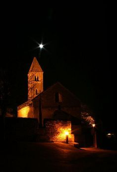 Taizé village church night by fuse314, via Flickr Religion, Christian Life, Pilgrimage, Oh The Places You'll Go, Trip Planning, Catholic, Spirituality, Community, Italy