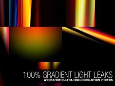Free Photoshop actions Vintage Light Leaks