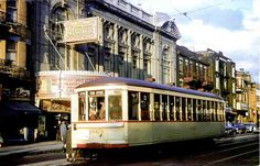 A tram in Mile End in the Ave du Parc south of Bernard. Old Montreal, Montreal Ville, Montreal Quebec, Quebec City, Photos Du, Old Photos, Tramway, Canada Eh, Photo Vintage